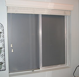 Bathroom Sliding Window   Interior View
